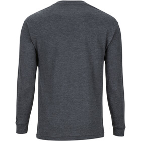 Marmot Deep Forest Maillot à manches longues Homme, charcoal heather